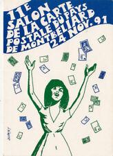 MONTBELIARD 11ème salon de la carte postale 1991