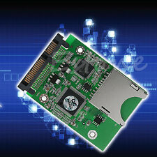 Converter Adapter SD SDHC Secure Digital MMC to SATA for Windows Linux Mac OS