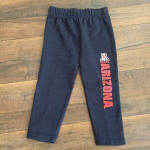 NCAA  ARIZONA WILDCATS, KIDS, BASKETBALL PANTS, SIZE SMALL (4)