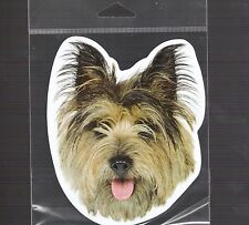 Cairn Terrier 4 inch face magnet for anything metal