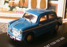 FIAT 1100-103 1953 EDISON GIOCATTOLI EG 1/43 ITALIA BLEU BLUE NEW AZZURE BLAU