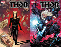 Marvel Comics 2020 Thor #10 Main + Lashley Knullfied Variant 12-02-20