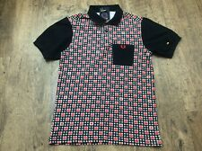 Mens Very Rare Fred Perry Pac Man Pacman Polo Shirt Sz S Excellent M0