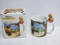 Vintage Walt Disney Store Japan RARE Winnie The Pooh TIGGER 3D Coffee Mug W/ BOX