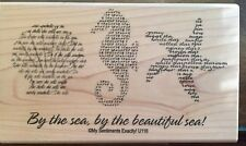 NEW MSE! My Sentiments Exactly! Unmounted Rubber Stamp U116 By The Sea