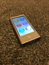 Apple iPod Nano 7th Generation 16gb - Gold - Very Good Condition