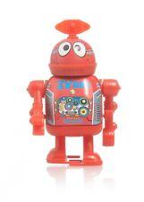 "Vintage ZV 288 Tin LITHO Robot Wind Up PLAYGO 3.75"""