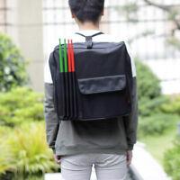"""Portable Black 14"""" Snare Drum Bag Snare Carry Backpack Drumbag"""