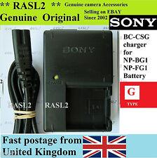 ORIGINALE SONY CARICABATTERIE DSC-W125 DSC-W130 DSC-W150 DSC-H7 DSC-H9 B B dsc-dsc-hx5v
