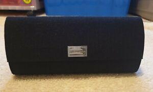 Genuine Dolce & Gabbana glasses case, black – *pre-owned, mint condition*