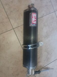 Yoshimura Carbon TRS Tri-Oval Race Slip On Exhaust - Kawasaki ZX10R (2004-2005)