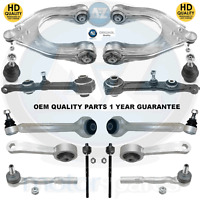 For Mercedes Front suspension wishbones arms ball joints tie track rod links kit