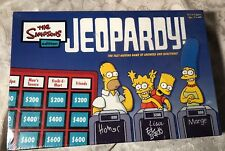 Jeopardy - The Simpsons Edition - Board Game New Sealed