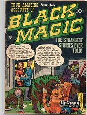 BLACK MAGIC Vol. 4 #5 (#29) Jack Kirby Crestwood Publishing 1954 GD