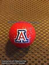 LOGO GOLF BALL-NCAA....ARIZONA UNIVERSITY......RED BALL...NEW!!!!