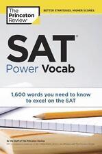 Sat Power Vocab [College Test Preparation]