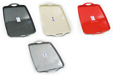 PLASTIC SERVING TRAY -RECTANGULAR DINNER SERVING TRAY - 5 COLOURS - KITCHEN TRAY