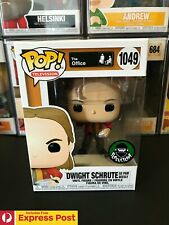 THE OFFICE DWIGHT SHRUTE AS PAM BEESLY FUNKO POP VINYL FIGURE #1049 + PROTECTOR