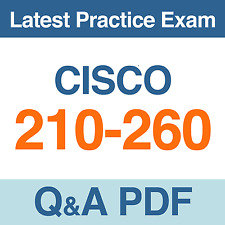 Implementing Cisco Network Security Practice Test 210-260 Exam Q&A PDF