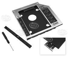 Universal 2nd HDD SSD Hard Drive SATA Caddy for HP EliteBook Optical Bay