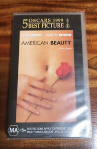 American Beauty VHS Video Tape