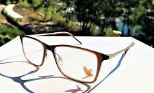 NWOT Maui Jim Matte Rootbeer Eyeglasses MJO 2608-26M (Demo) 53-17-145 / Japan