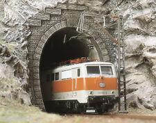 Busch 7024, 2 E-Lok Portale 1-gleisig, H0 Modellwelten Bausatz 1:87