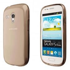 Samsung Galaxy S3 mini i8190 i8200 Silicon TPU Phone Case Cover Black
