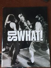 Metallica So What Fan Club Magazines 12th year issued Vol 12, Issues 1 through 4