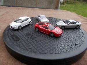 MERCEDES/ALFA/MASERATI/FERRARI SUPERCAR/CAR FOUR PACK--USED /MINT/UNBOXED