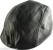 hot rod Bonnet en cuir, 50er Style a, MOTARD Casquette, CSA Oldschool chapeau,