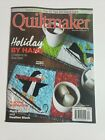 Quiltmaker November, December 2021 Magazine Holiday By Hand 5 Patterns to  Sew
