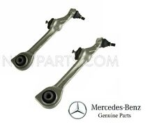 For Mercedes W221 S600 Pair Set of 2 Front Lower Rearward Control Arms Genuine