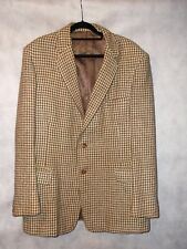 Burtons HARRIS TWEED vintage jacket in perfect condition chest 42 M to L
