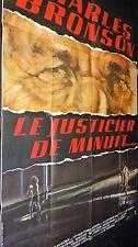 LE JUSTICIER DE MINUIT ! charles bronson  affiche cinema