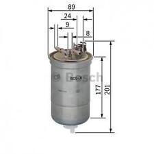 Filtro carburante BOSCH audi a3/a4/a6/ fiat punto td/vw golf IV tdi (0450906374)