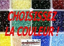 Lot 500 Perles à facettes en cristal de boheme 4mm  + de 120 COULEURS AU CHOIX