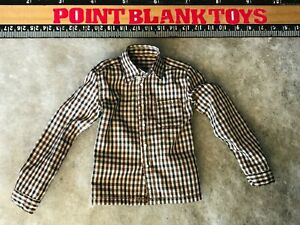 DID Long Sleeve Plaid Shirt FRINGE WALTER BISHOP 1/6 ACTION FIGURE TOYS dam