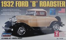 "New Box for Sale - LINDERG- 1932 Ford ""B"" Roadster 1/32 Model Kit"