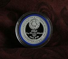 King Bhumibol Adulyadej Rama IX 2010 Thailand 800 Baht Proof Silver Coin WIPO