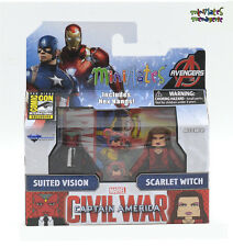 Marvel Minimates SDCC Exclusive Civil War Movie Suited Vision & Scarlet Witch