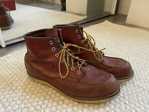 Red Wing Boots Moc Toe Uk Size 11