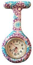 Verpleegkundigen Fashion gekleurd patroon Silicone Rubber Fob horloges - Wirbel