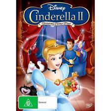 Cinderella 2 II - Dreams Come True (Walt Disney) DVD R4 *NEW & SEALED* FREE POST