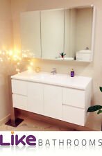 clearance sale @1200 Wall Hang Bathroom Vanity Unit 1200mm