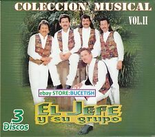 El Jefe y su Grupo 3CD Colecion Musical Box set New Nuevo sealed