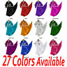 TMS Satin Skirt Top Set Belly Dance TRIBAL Costume Gypsy Club Dress 27 Colors