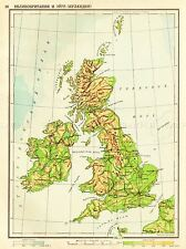 MAPS RUSSIAN GREAT BRITAN ART POSTER PRINT LV2149