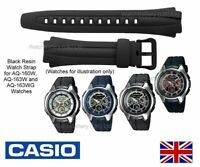 Genuine Casio Watch Strap Band AQ-160W AQ160 AQ-163W AQ-163WG - 10137491 - BLACK