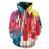 Jumper Hoodie Womens Hooded Unisex Tops 3D Print Graphic Mens Sweatshirt